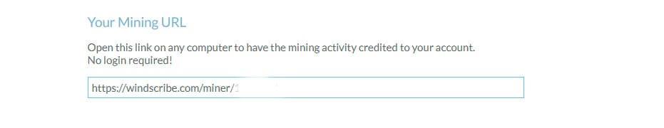 Mining url